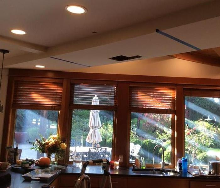 Water Damage – Bremerton Home Before